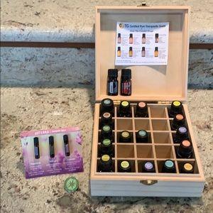 Doterra Wooden Box of Oils plus